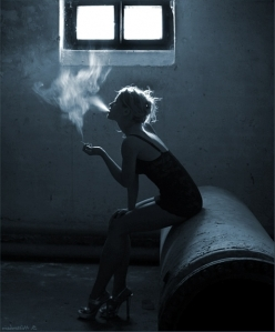 girl n the smoke