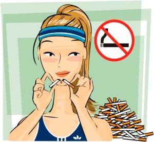 no smoking sweetheart
