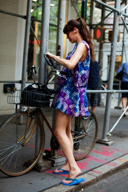 On the Street....Soho Bike, NYC