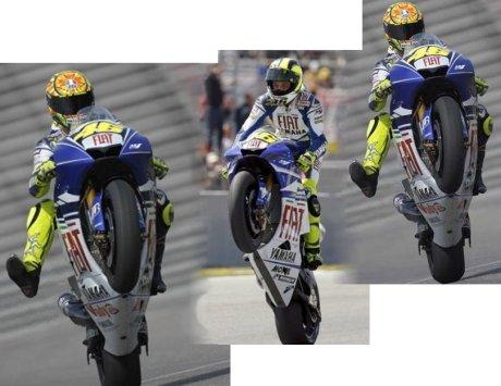 100 Victories (Moto GP) for Italian Champion Magic Valentino Rossi